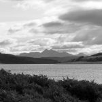 Hills on the mainland from Mull