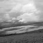 From Wild Boar Fell towards the river Eden and Kirkby Stephen