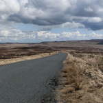 road over Arkengarthdale Moor