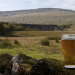 Ribblehead viaduct from the pub