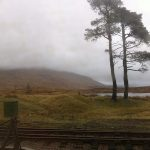 Corrour from the train