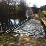 Towpath by canal