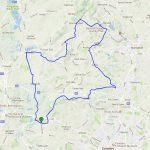 Meriden 50 km route