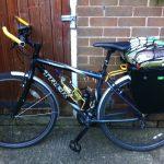 Loaded Trek bike