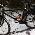 Scott MTB in snow