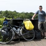 Camping with Trek bike